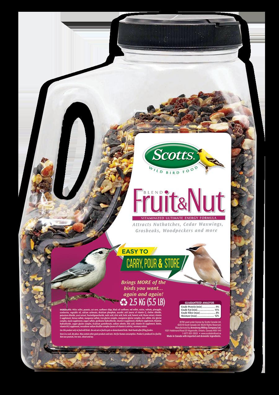 409-291 - Scotts Fruit & Nut Jug 2.5KG - 7 76947 86048 8 - English Trans